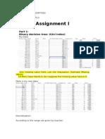 Data Mining Assignment