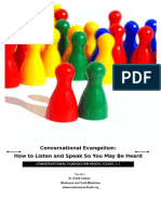 Conversational Evangelism Outline