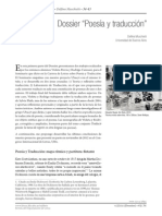 Dossier Poesía y Traducción Muschietti