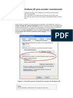 Configurar el Windows XP para acceder remotamente.doc