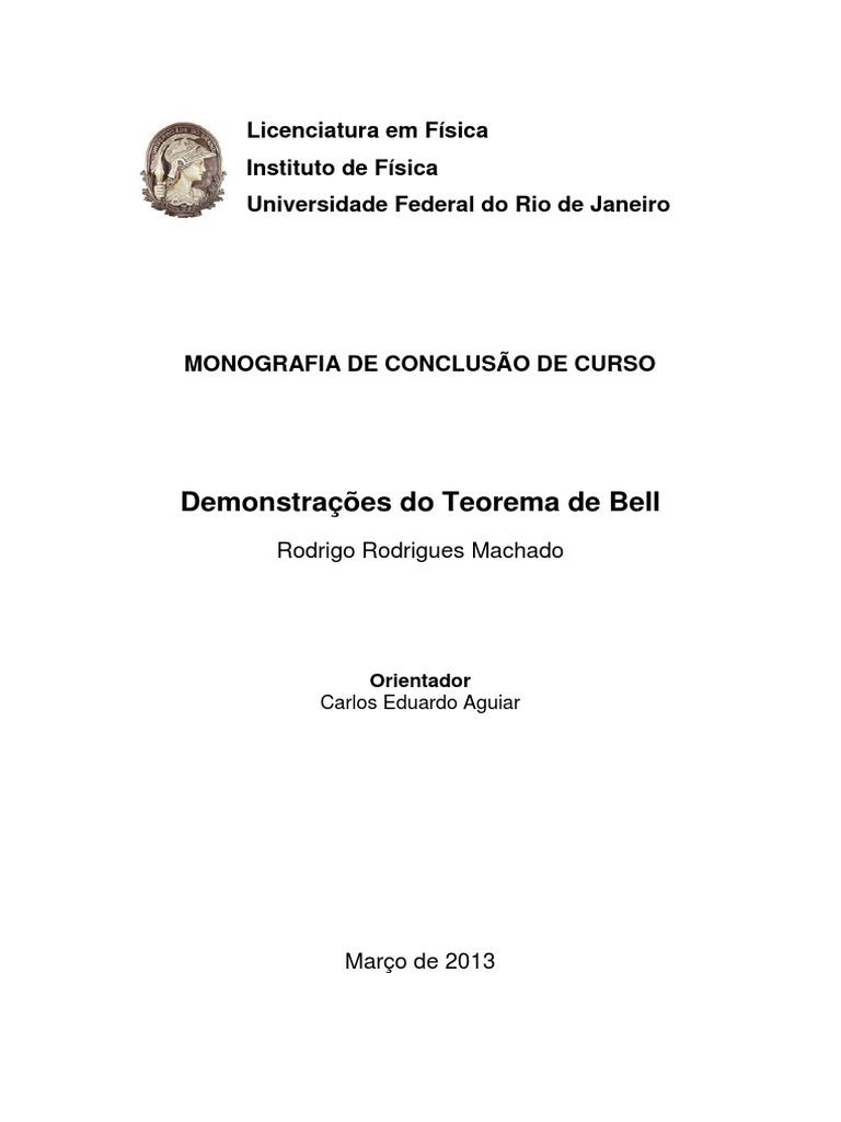 Demonstraes do teorema de bell 1536291798v1 ccuart Gallery
