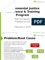 Achieving Indoor Environmental Justice through Weatherization and Healthy Homes Initiatives