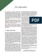 Left–Right Politics