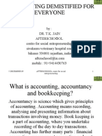 Accounting Demistified for PGPSE participants