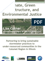 Climate, Green Infrastructure, and Environmental Justice