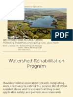 Watershed Dam Rehabilitation Protecting Properties and Saving Lives, Plus More