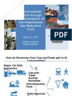 Environmental Justice through Implementation of the Greenhouse Gas Reduction Fund