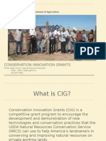 Conservation Innovation Grants
