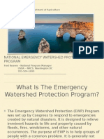 National Emergency Watershed Protection (EWP) Program