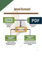 Cascading the Scorecard1