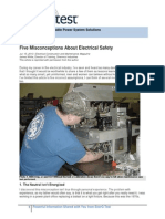 5 Misconceptions of Electrical Safety
