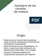 Teoría Tipológica de Las Carreras de Holland