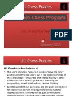 UIL Practice Test Jan 2013