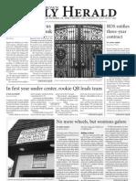 October 16, 2009 Issue