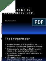 Entrepreneurship Unit 1