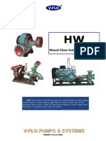 Mixed Flow Voluta Case Pumps