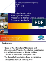 MEG/006.Marine Accident Investigation Capability and Capacity Project