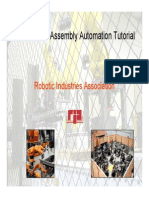Robotic Assembly Automation Considerations 10-21-08