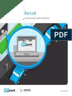 SFpark Manual Técnico para parquimetros
