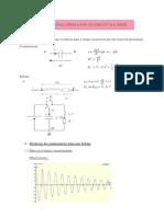 Oscillations Libres Dans Un Circuit Rlc Serie
