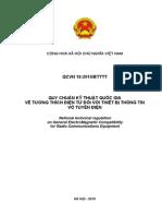 QCVN 18-2010 (EMC Cho Thiet Bi Vo Tuyen)