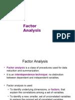 Factor Analysis Class