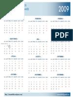 Romani Calendar 2009