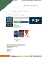 Libro El Cuadro de Mando Integral Online - Descargar Libros