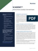 AcronisAcademy Datasheet en-US