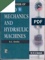 A TextBook of Fluid Mechanics and Hydraulic Machines - Dr. R. K. Bansal