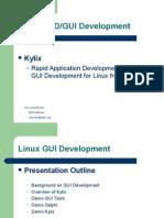 Linux Gui Development