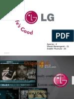 Brand management - LG