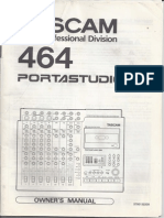 Tascam portastudio 424 mkiii manuals.