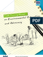 """Training Manual on Natural Resource Management """"Youth Training Manual on Environmental Education and Advocacy-"""""""