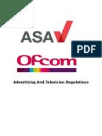 advertising regulations asa ofcom essay