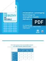 Mobile Technologies for Tobacco-Related Disease