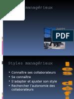 Styles managériaux