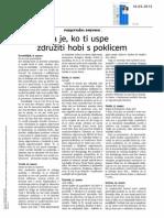 Podjetniški dnevnik mag. Natalie C. Postružnik, Nikrmana, v Dnevniku