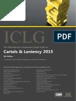 ICLG- Cartels & Leniency 2015