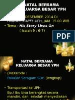 Natal Bersama 10 Desember 2014