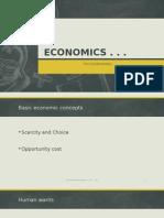 Lecture 1-Economics Basics
