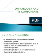 PPT on Harddisk and Its Components