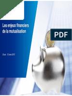 Les enjeux financiers de la mutualisation par Françoise Larpin