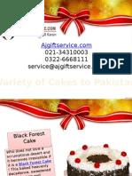 Cakes to Pakistan