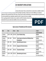 Open Lectures PDF