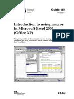 154 Excel Macros