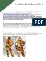 Dieta Ravenna, El Procedimiento Que Hizo Perder 13 Kilos A Rousseff