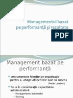 Managementul performant