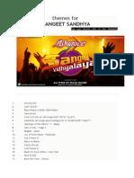 mahila sangeet script