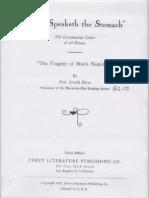 Thus Speaketh the Stomach Ehret 1923.Jpg Text